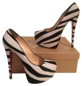 Christian Louboutin Zebra Pumps