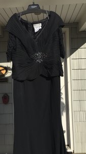 Daymor Couture Black Dress