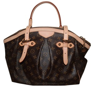 Louis Vuitton Satchel in Brown and Tan LV Monogram