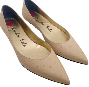 London Sole Cream Flats