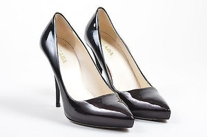 Prada Dark Purple Black Pumps