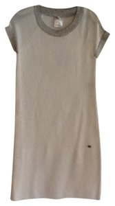 Chanel short dress White with black trim on Tradesy - item med img