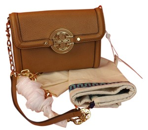 Tory Burch Royal Tan Clutch