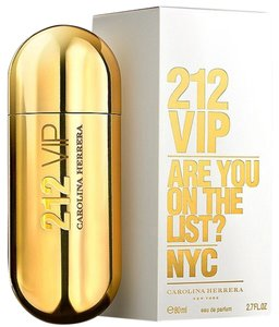 Carolina Herrera 212 VIP NYC by CAROLINA HERRERA Eau de Parfum Spray ~ 2.7 oz / 80 ml