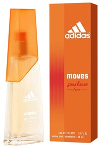 adidas ADIDAS MOVES PULSE by ADIDAS Eau de Toilette Spray ~ 1.0 oz / 30 ml