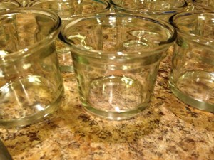 Michaels Clear Glass 25 Small Holders One Medium Holder Votive/Candle
