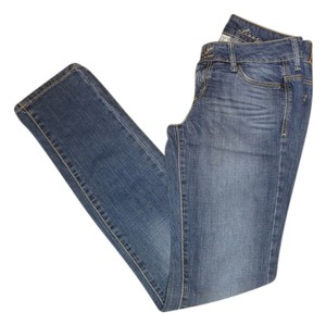 Mango Lizzy Blue Skinny Jeans-Medium Wash