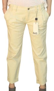 Dolce&Gabbana Straight Pants Yellow