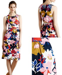 Anthropologie short dress WHIT TWO Cocktail Garden Floral on Tradesy