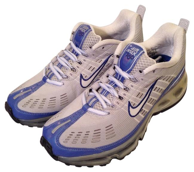 Item - Silver White Royal Blue Box Woman's Air Max 360- Never Worn In with Tags Sneakers Size US 6.5 Regular (M, B)