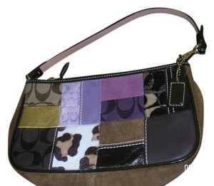 Coach Wristlet in multicolor