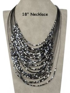 Unknown 2pc Multi Layer Necklace Set Free Shipping