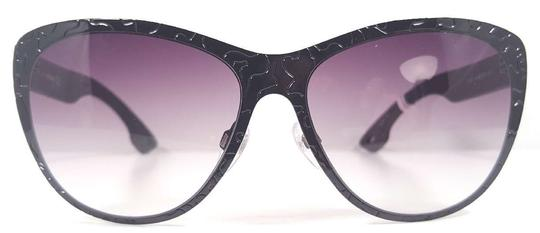 Diesel DIESEL DL0011/S Sunglasses Color 08B Black ~ Size 58 mm Image 1