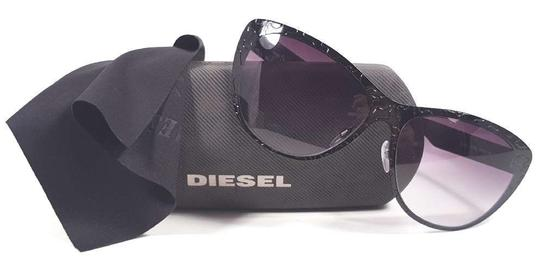 Diesel DIESEL DL0011/S Sunglasses Color 08B Black ~ Size 58 mm Image 4