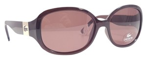 Lacoste LACOSTE L506S Sunglasses Color 207 Brown ~ Size 57 mm