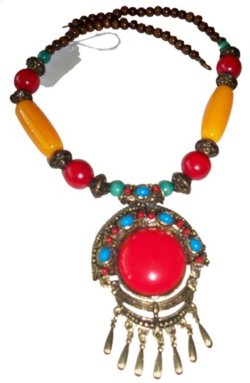 Preload https://item3.tradesy.com/images/coral-brown-bronze-fashion-wood-tribal-crafts-necklace-1139442-0-0.jpg?width=440&height=440