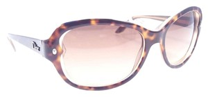 Dior CHRISTIAN DIOR PONDICHERY Sunglasses Color 0XLT/CC Havana Beige ~ Size 53mm