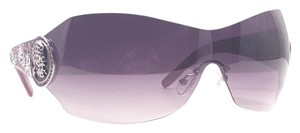 Ed Hardy ED HARDY EHS 042 Sunglasses Shields Color Amethyst ~ Size 80 mm