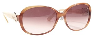 Salvatore Ferragamo SALVATORE FERRAGAMO SF613S Sunglasses Color 260 Striped Honey ~ Size 59 mm