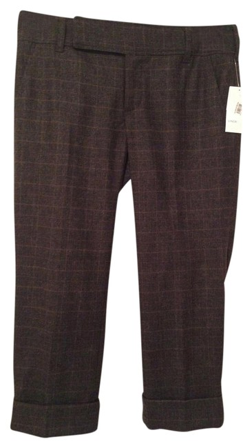 Preload https://img-static.tradesy.com/item/1139628/vince-brown-wool-plaid-capricropped-pants-size-6-s-28-0-4-650-650.jpg