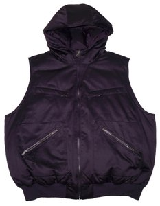 Lauren Ralph Lauren Sown Sheen Sateen Purple Warm Vest