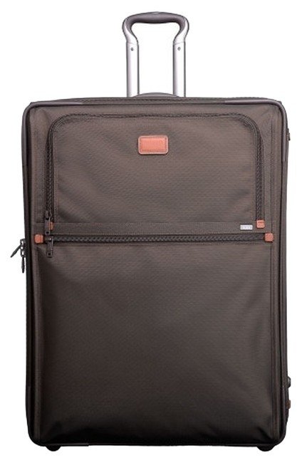 Item - Alpha Wheeled Expandable Extended Trip Suitcases (Set Of 2) Brown Weekend/Travel Bag
