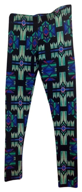 Preload https://img-static.tradesy.com/item/1139750/nordstrom-green-tribal-leggings-size-4-s-27-0-0-650-650.jpg