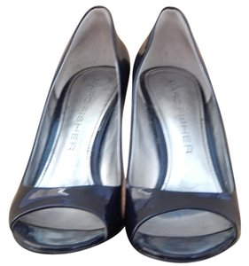 Marc Fisher Patent Leather Navy Pumps