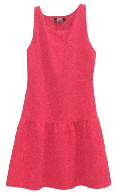 Preload https://item4.tradesy.com/images/b-darlin-hot-pink-fit-and-flare-mini-short-casual-dress-size-8-m-11397658-0-1.jpg?width=400&height=650