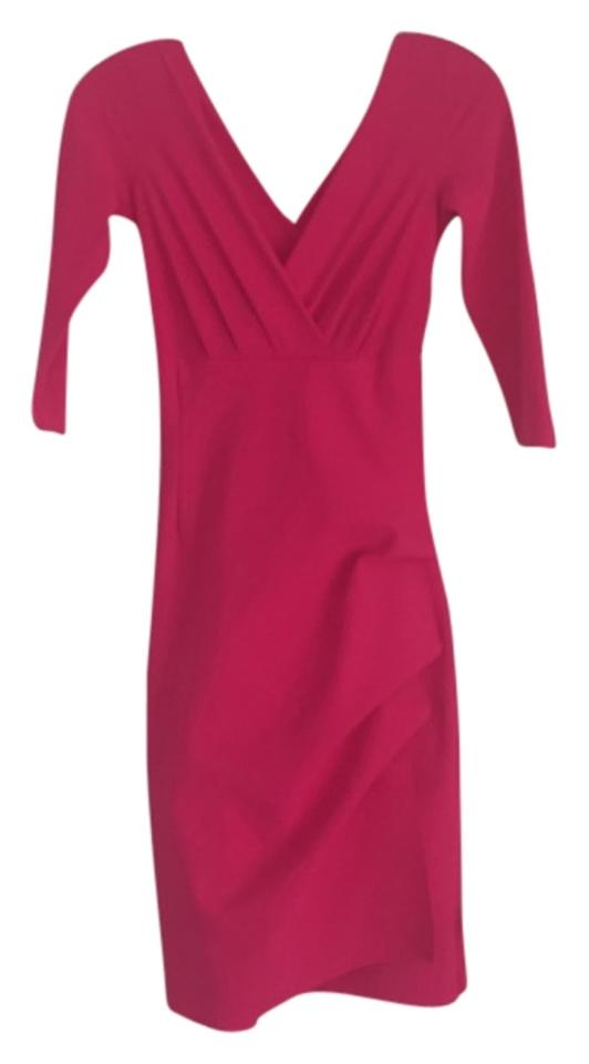 ad2f1371c2a4 La Petite Robe di Chiara Boni Pink Short Cocktail Dress Size 0 (XS ...