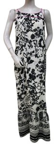 Black and White Maxi Dress by Co Op Barney's Ivory