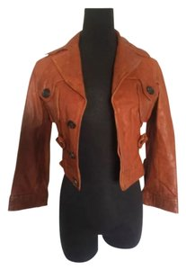 Dsquared2 Light brown Leather Jacket