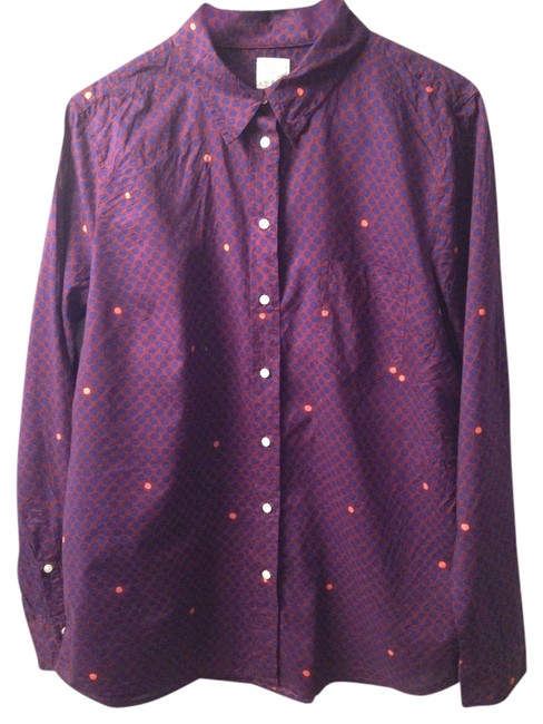Preload https://item3.tradesy.com/images/gap-purple-dot-fitted-boyfriend-button-down-top-size-12-l-1139992-0-0.jpg?width=400&height=650