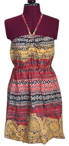 Lilka short dress Multi Halter on Tradesy