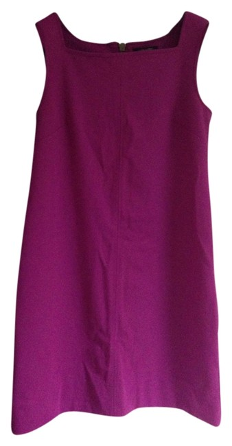 Banana Republic Purple Above Knee Formal Dress Size 6 (S) Banana Republic Purple Above Knee Formal Dress Size 6 (S) Image 1