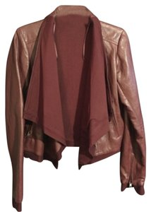 Willow & Clay Burgundy Leather Jacket
