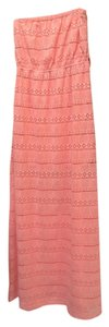 Coral / Pink Maxi Dress by Ya Los Angeles