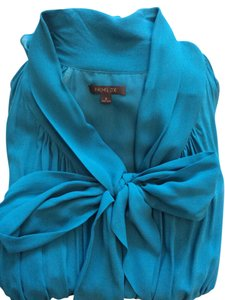 Rachel Zoe Silk Bow Dress