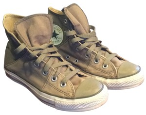 Converse Chick Taylor High Tops Green Rare Athletic