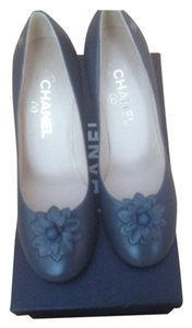 Chanel Gray Pumps