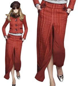 Dolce&Gabbana Maxi Skirt Red