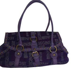 Just Cavalli Satchel in Purple