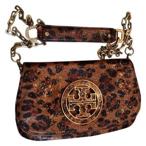 Tory Burch Limited Leopard Leather Cross Body Bag