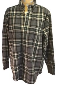 J.Crew Vintage Flannel Shirt 90's Grunge Button Down Shirt