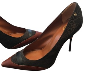 Roberto Cavalli Brown Pumps