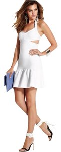 Guess Summer Date Bodycon Halter Cut-out Dress