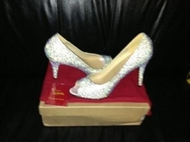 Item - Silver Sexy Strass Pumps Size US 9