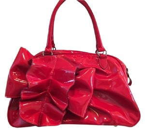 Valentino Handbag Patent Leather Hobo Bag