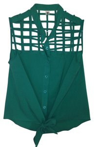 Tracy Reese Top Sea Foam Green