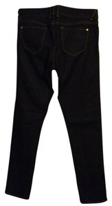 Arden B. Straight Pants Dark blue denim